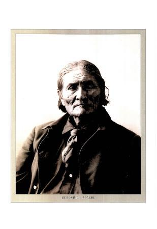 Frank Rinehart Geronimo Apache Indian Congres Art Print Poster
