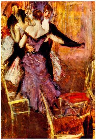 Giovanni Boldini Ballerina in Mauve Art Print Poster