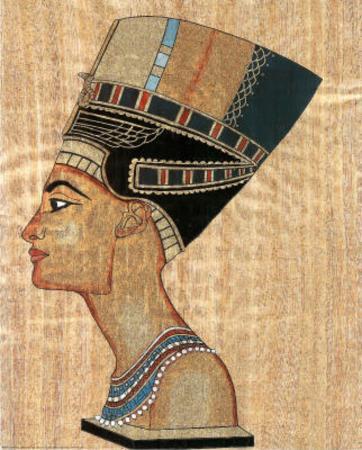 Egyptian Queen Art Print POSTER Pharaoh Ancient