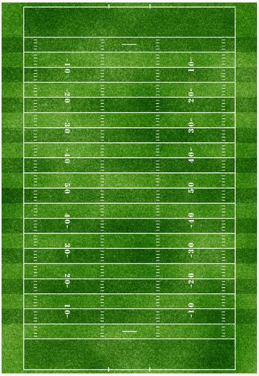 Football Field Gridiron Sports Poster Print Posters At