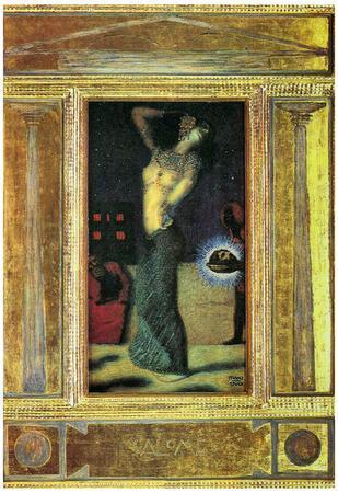 Franz von Stuck Salome I Art Print Poster