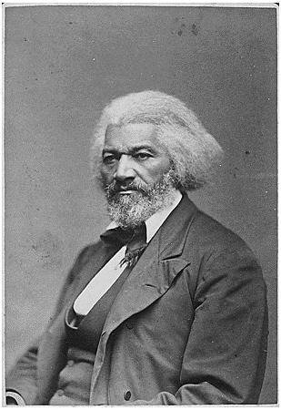 Frederick Douglass Seated Portrait Archival Photo Poster Print