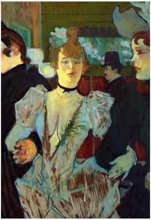 Henri de Toulouse-Lautrec La Goulue Entering the Moulin Rouge Art Print Poster