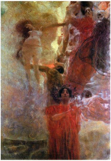 Gustav Klimt Medicine Art Print Poster Posters At