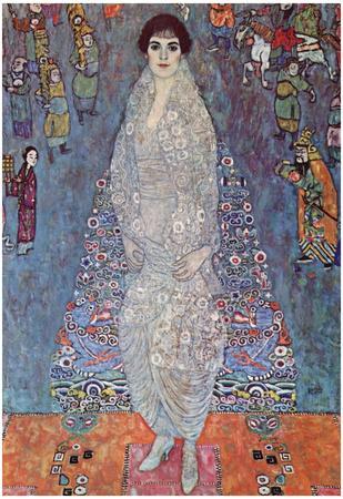 Gustav Klimt Portrait of Baroness Elisabeth Bachofen Art Print Poster