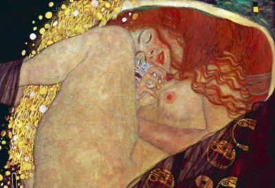 Gustav Klimt (Danae) Art Poster Print
