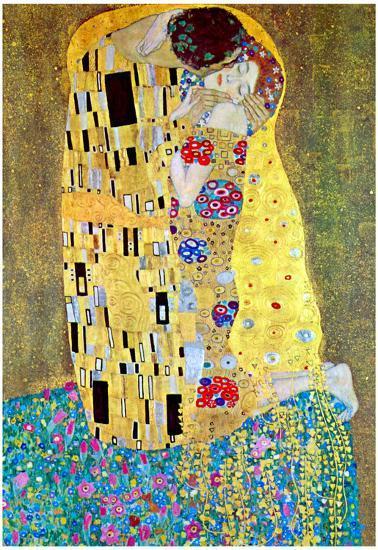2c550d8a281 Gustav Klimt The Kiss Art Print Poster Prints at AllPosters.com