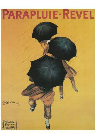 Leonetto Cappiello Parapluie Revel Vintage Art Poster Print