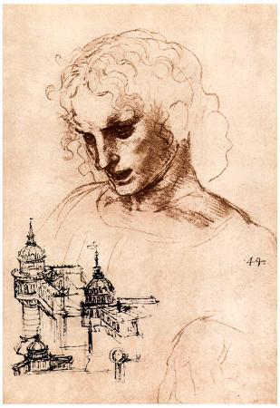 Leonardo Da Vinci Jacobus Maior Art Print Poster