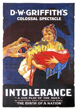 Intolerance: Love's Struggle Through the Ages Movie Poster Print