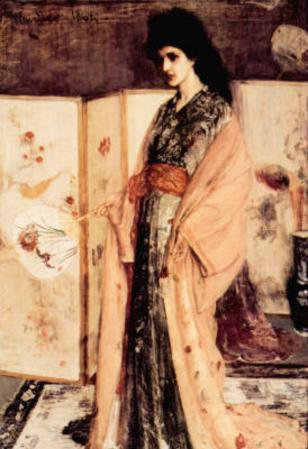 James Whistler La Princesse du Pay de la Porcelaine Art Print Poster