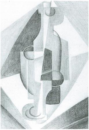 Juan Gris Still Life Cubism Print Poster