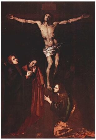 José de Ribera (Crucifixion) Art Poster Print