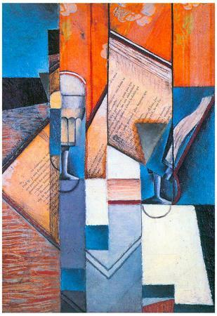 Juan Gris The Book #2 Cubism Print Poster