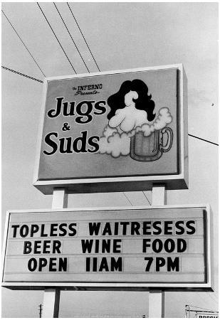 Jugs and Suds Archival Photo Poster