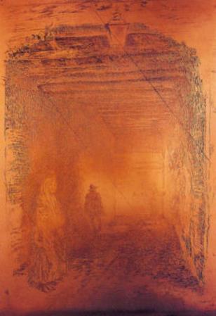 James Whistler The Beggars 1 Art Print Poster