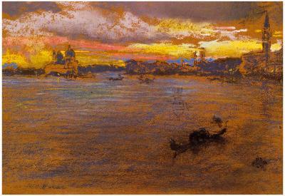 James Whistler The Storm at Sunset Art Print Poster