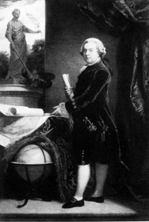 John Adams (Portrait, Standing) Art Poster Print