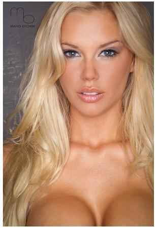 Jessa Hinton Close-up Photograph Poster Print by Mario Brown