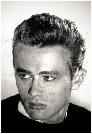 James Dean Head Shot Archival Photo Movie Poster Print