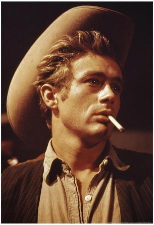 James Dean in Giant Movie Poster