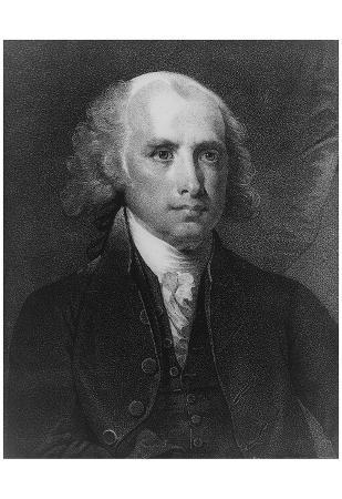 James Madison (Portrait) Art Poster Print