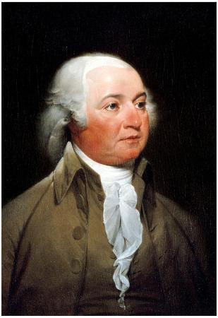 John Strumbull John Adams Portrait Historic Art Print Poster