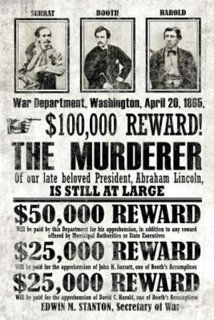 John Wilkes Booth Replica Wanted Poster