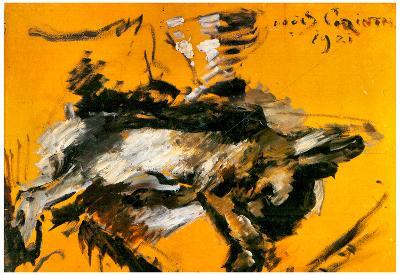 Lovis Corinth The Hare Art Print Poster