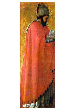 Masaccio St Augustine Art Print Poster