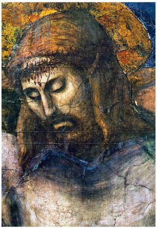 Masaccio The Trinity Detail 2 Art Print Poster