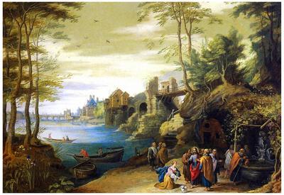 Pieter Brueghel the Younger Christ Art Print Poster
