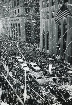 New York City Ticker Tape Parade Archival Photo Poster Print