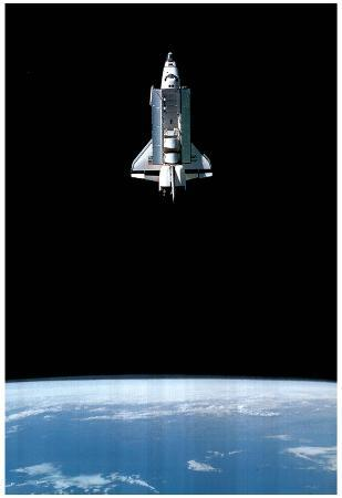 NASA Space Shuttle mission Poster Print