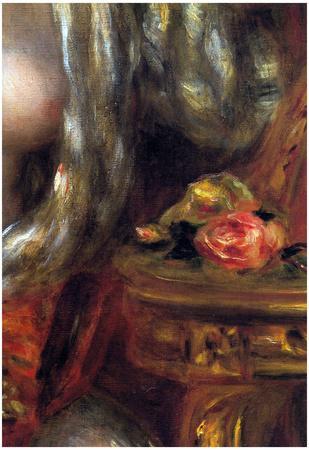Pierre Auguste Renoir Gabrielle with Jewels Detail Art Print Poster