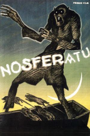 Nosferatu Movie Max Schreck Gustav von Wangenheim 1922 Poster Print