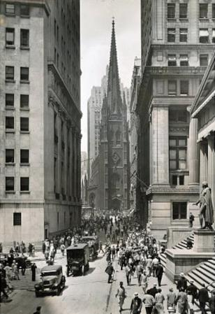 New York City Church Archival Photo Poster Print