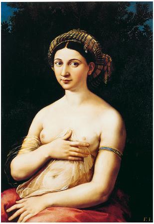 Raphael La Fornarina Art Print Poster
