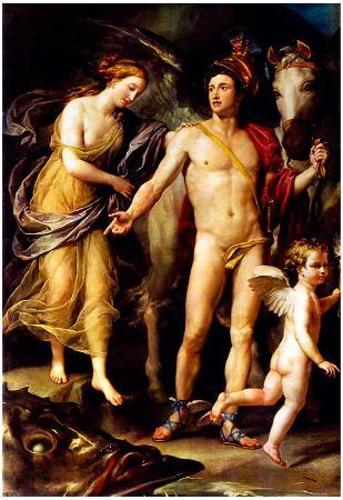 Raphael Perseus and Andromedar Art Print Poster