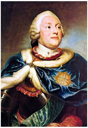 Raphael Portrait of the Elector Friedrich Christian Art Print Poster