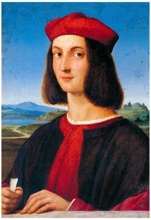 Raphael Ritratto di Uomo 2 Art Print Poster