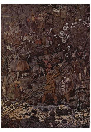 Richard Dadd (The master of the string hexenden woodcutter) Art Poster Print