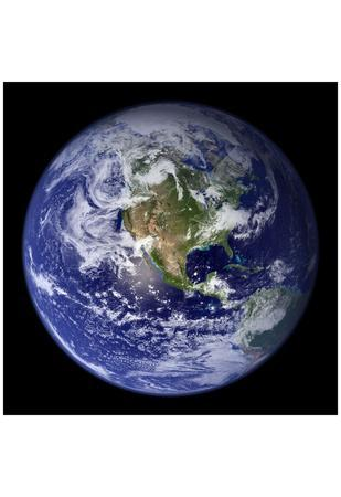 Planet Earth from Space (North America) Photo Poster