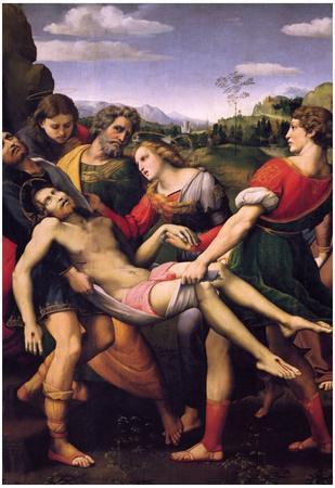 Raffael Entombment of Christ Art Print Poster