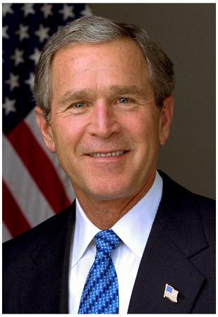 President George W. Bush Historical Photo Print Poster