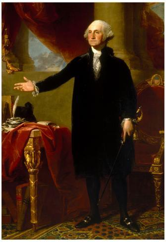 picture regarding Printable Pictures of George Washington named President George Washington Name Ancient Artwork Print Poster
