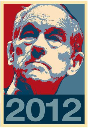 Ron Paul 2012 Political Poster