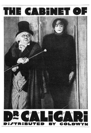 The Cabinet of Dr Caligari Movie Werner Krauss Poster Print