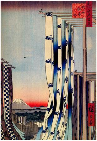 Utagawa Hiroshige Dyers Quarter Kanda