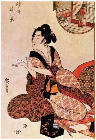 Utagawa Hiroshige Geisha